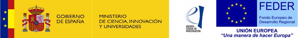 Logo Ministerio Ciencia, Innovación y Universidades - Feder